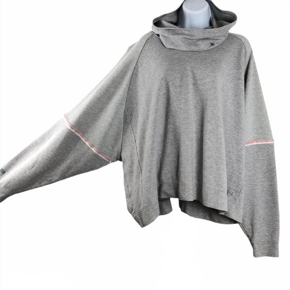 Black Under Armour Unstoppable Double Knit Oversized Womens Hoody